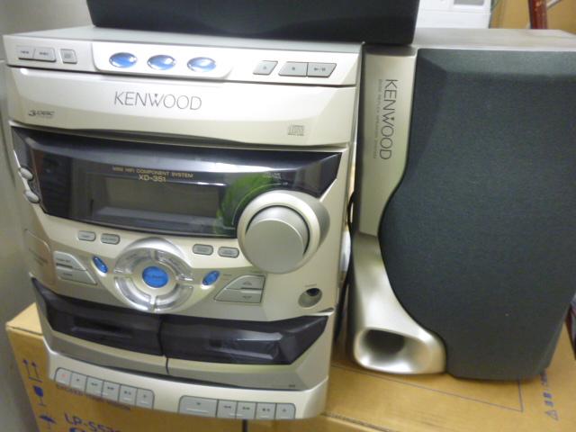 コンポ、オーディオ機器