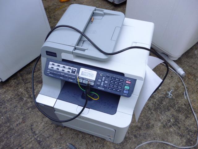 小型複合コピー機